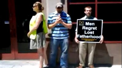 Joseph Holland was arrested for praying outside a Planned Parenthood abortion clinic on July 3rd.