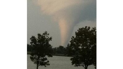 Oct. 24: A tornado touches down in North Texas