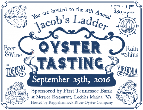 2016 Oyster Tasting