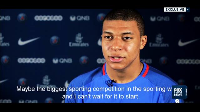 Exclusive Mbappe interview