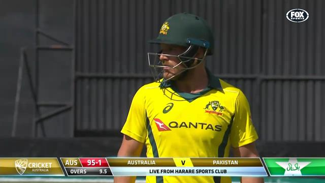 Finch misses out on fifty