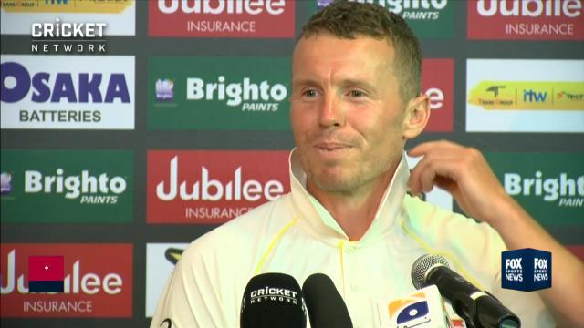 Siddle talks bizarre run-out