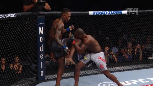 Adesanya ends Brunson in Rd 1