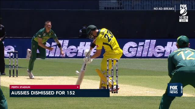 Aussies smashed by SA