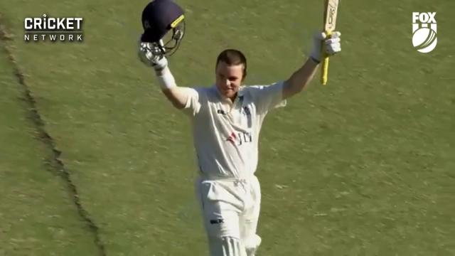Harris hammers 250 not out