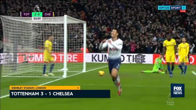 Spurs jump Chelsea