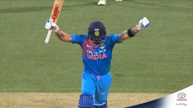 King Kohli claims classic T20