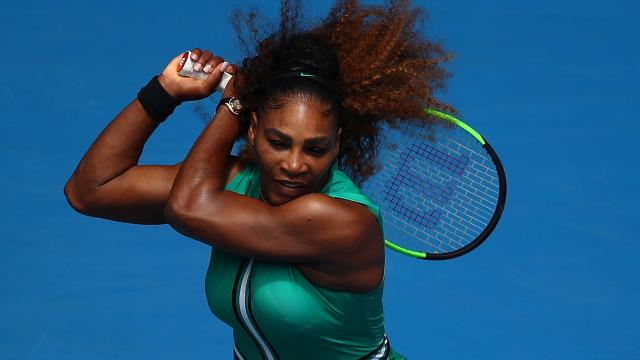 1st round cakewalk for Serena