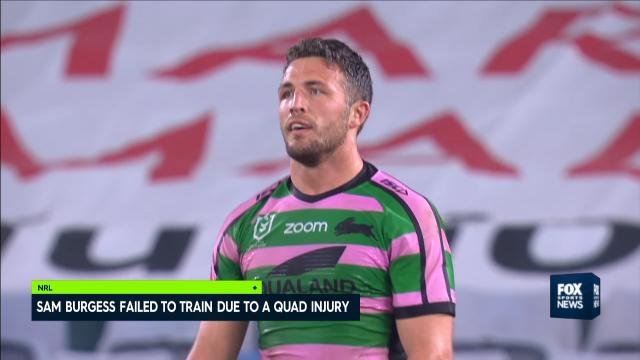 Burgess unable to train
