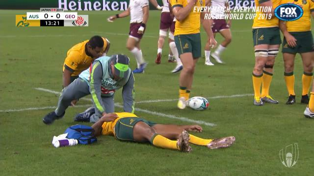 Star Wallaby concussed early
