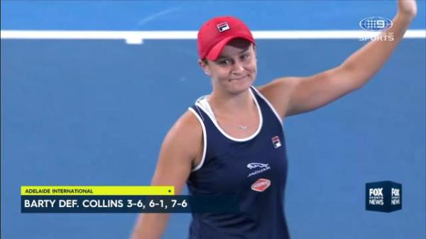 Now for the Australian Open! Ash Barty wins first WTA title on home soil after Adelaide victory