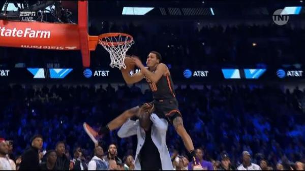 NBA All-Star Game LIVE: Ben Simmons flies high in dunk-fest as Team LeBron explosion nets $100k