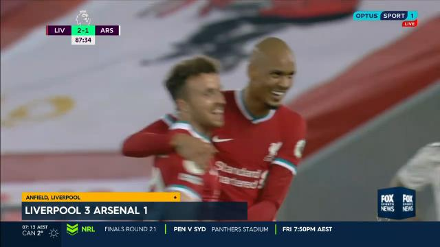 Slick reds for the Gunners