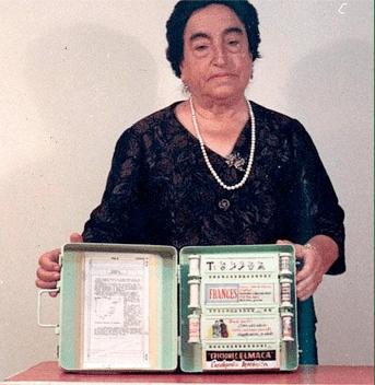 Ángela Robles e enciclopédia mecânica