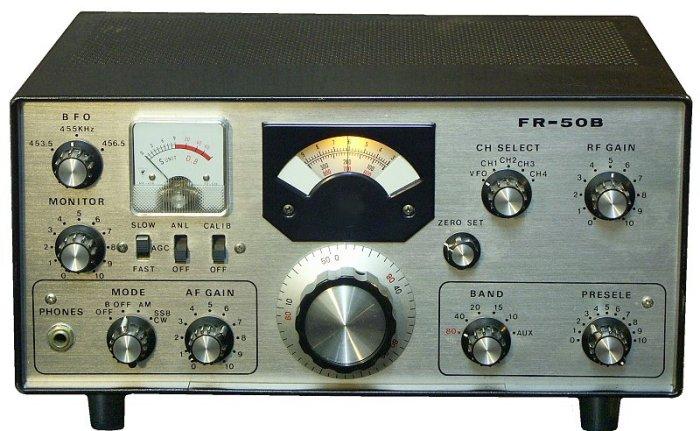 Image result for Yaesu FR-50B