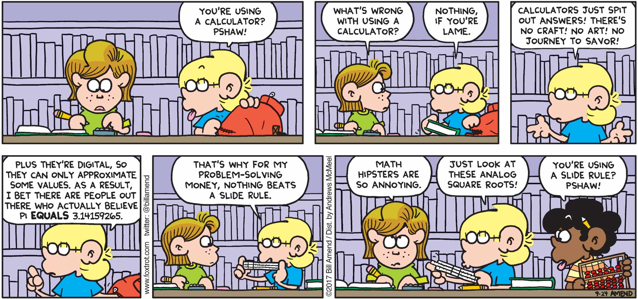 Most Viewed Foxtrot Comics By Bill Amend