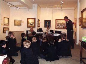 Andras Kalman and Sir Ian McKellen at Lowry Exhibition