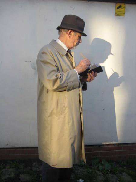McKellen filming Lowry