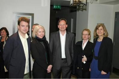 Gordon Mason, Maureen, Robin Light, Sally Kalman & Margy