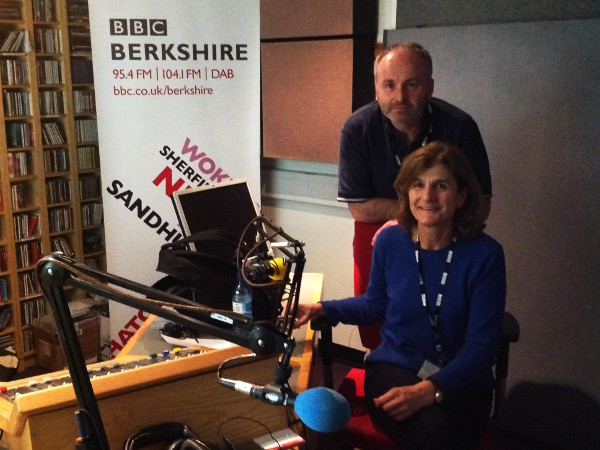 Margy - BBC Radio Berkshire