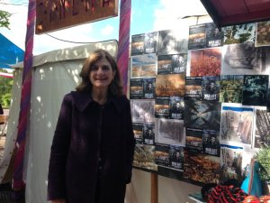 Margy at the HTLGI WAR ART Screening