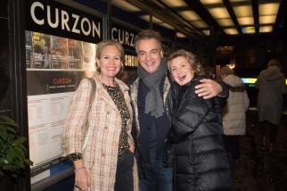 Imogen Edwards-Jones, Kenton Allen, Princess Katya Galitzine at Premiere of Revolution, New Art For a New World , Curzon cinema , London. 10 Nov 2016