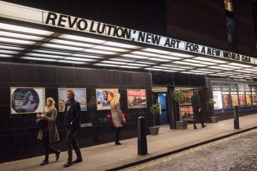Premiere of Revolution, New Art For a New World , Curzon cinema , London. 10 Nov 2016
