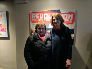 Evgenia Petrova (State Russian Museum) and Margy Kinmonth