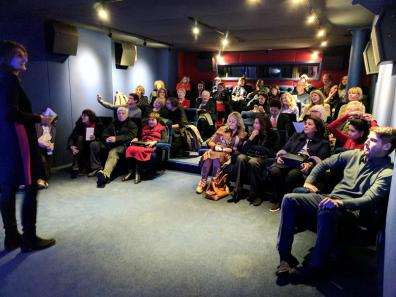 REVOLUTION - Margy Kinmonth introduces the VIP Screening