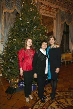 State Tretyakov Gallery curators Daria Manucharova, Dr Eleanor Paston - curator of Vasily Polenov exhibition and Margy