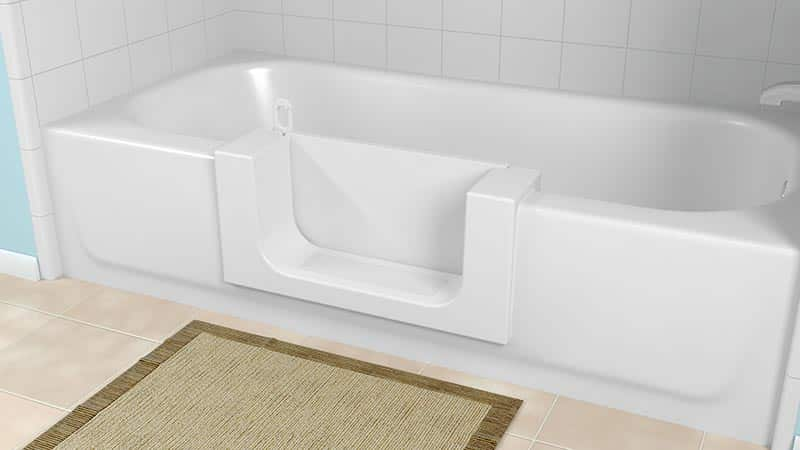 Low Cost Bathtub To Shower Conversions In St Charles IL