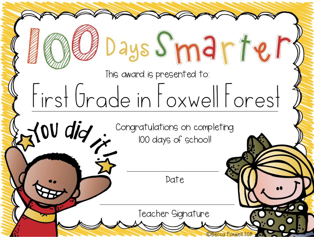 100 Days Smarter Freebie