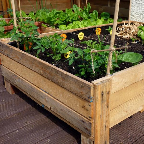 How Build Garden Planter Box