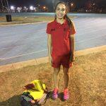 Silvana Cáceres (100 metros y salto largo)