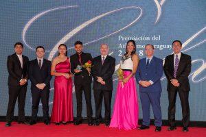 En la Gala de Paraguay, Pirelli y Ayala distinguidos en mayores 2