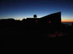 Fremont Peak Observatory at sunset