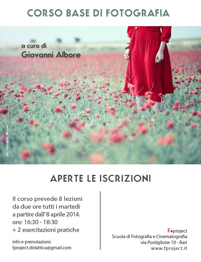 F.project - Corso base di Fotografia Albore aprile 2014