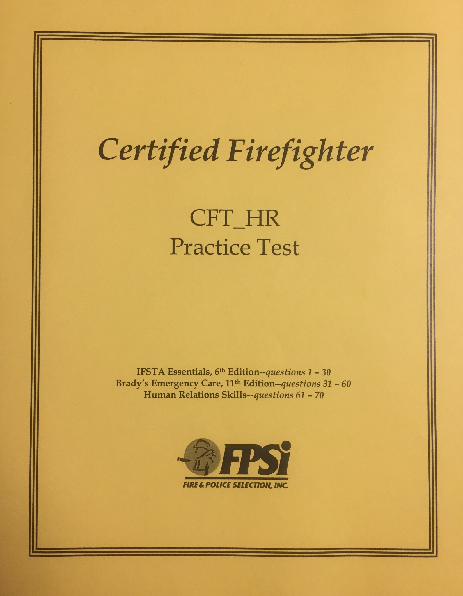 firefighter tpm 11th edition study guide rh fpsi com fpsi 11th edition study guide Fpsi Grant DUI