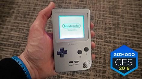 CES 2018 : Le retour de la GameBoy