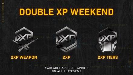 COD MW April 2020 2xXP