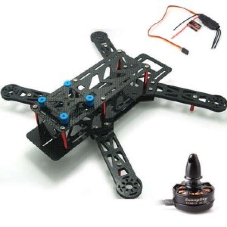 fpvcrazy QAV280-kit-1 FPV/RACING DRONES Dronebuilds DroneRacing GUIDE TO BUY DRONE