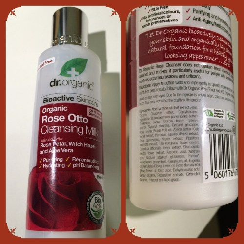 DR ORGANIC Rose Otto Cleansing Milk