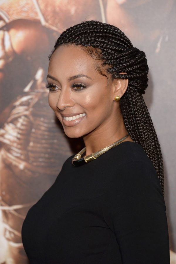 Image result for celebrities box braids