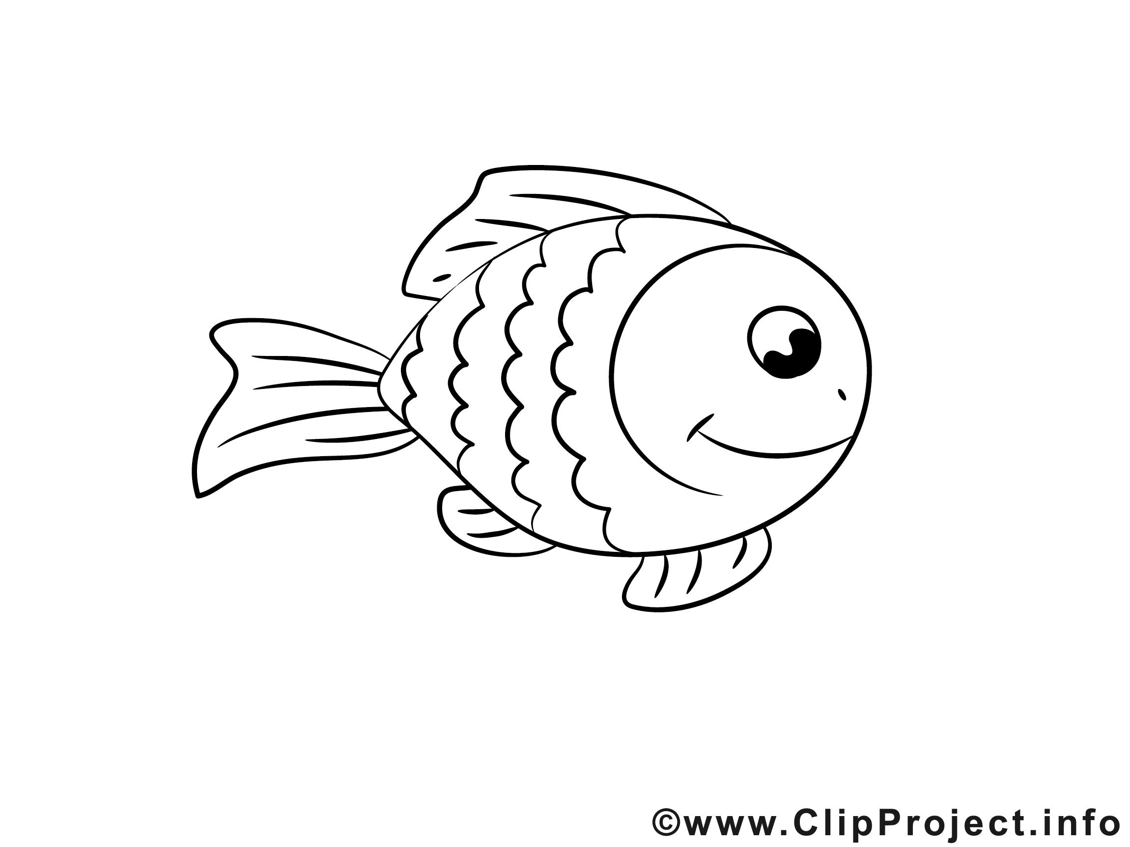 Poisson Clip Art Gratuit Animal A Imprimer