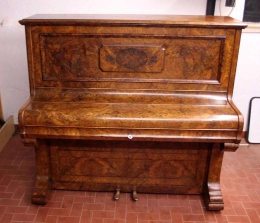 10. Pianoforte Reogh 1890, dopo il restauro