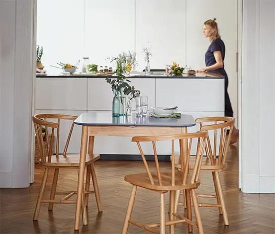 table de cuisine extensible env 90 120 x 80 cm