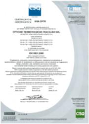 Certificato ISO 9001/2008
