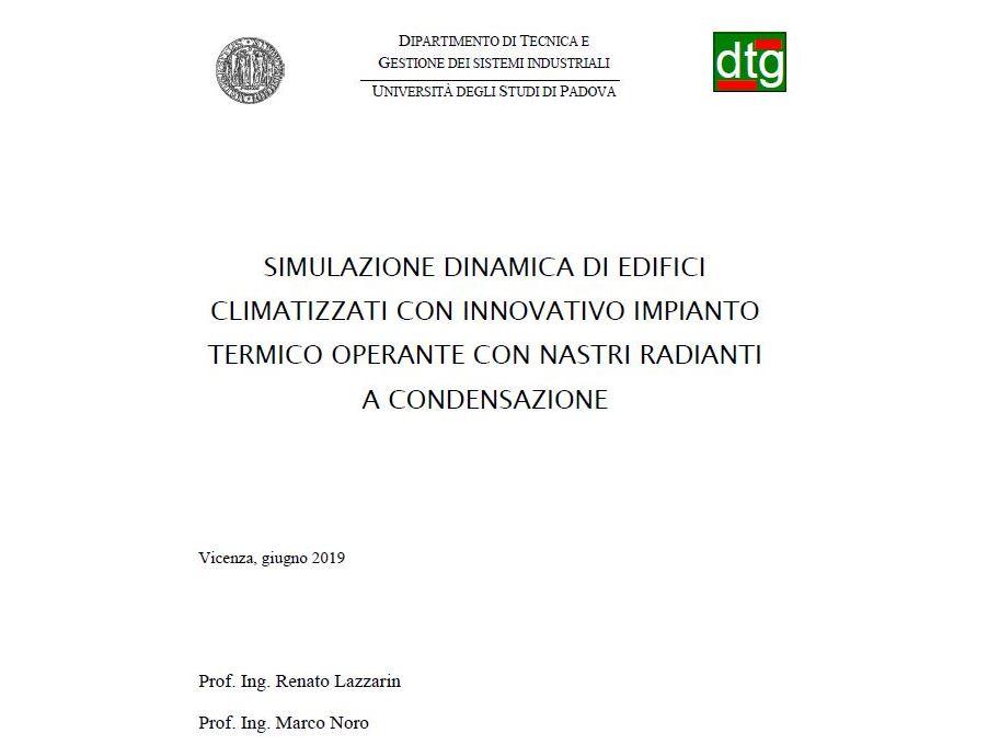 L'Università di Padova conferma: con Girad risparmio energetico certo fino al 30%