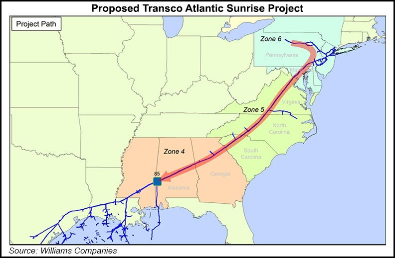 Image result for path of the atlantic sunrise pipeline