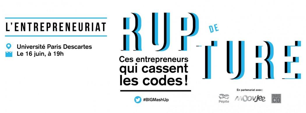 Les entrepreneurs cassent les codes avec le Mash Up